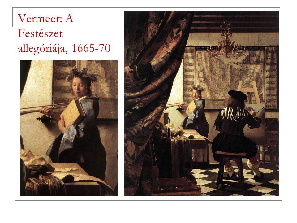 Vermeer: A Festészet allegóriája, 1665-70