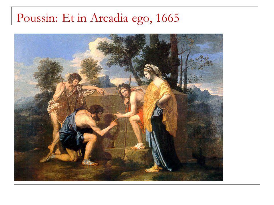 Poussin: Et in Arcadia ego, 1665