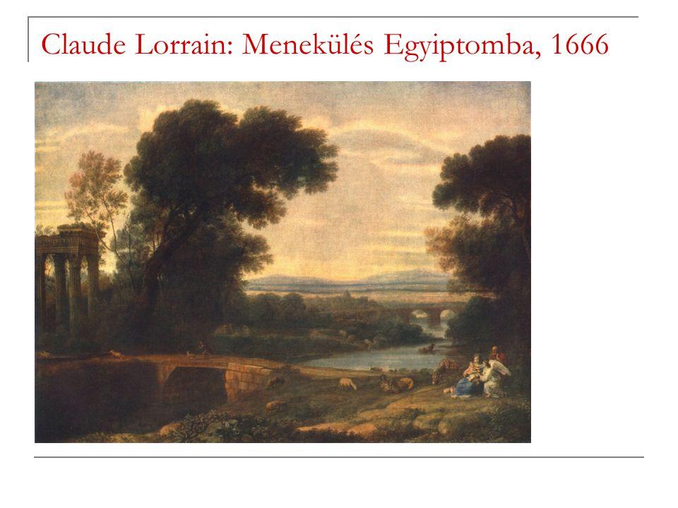 Claude Lorrain: Menekülés Egyiptomba, 1666