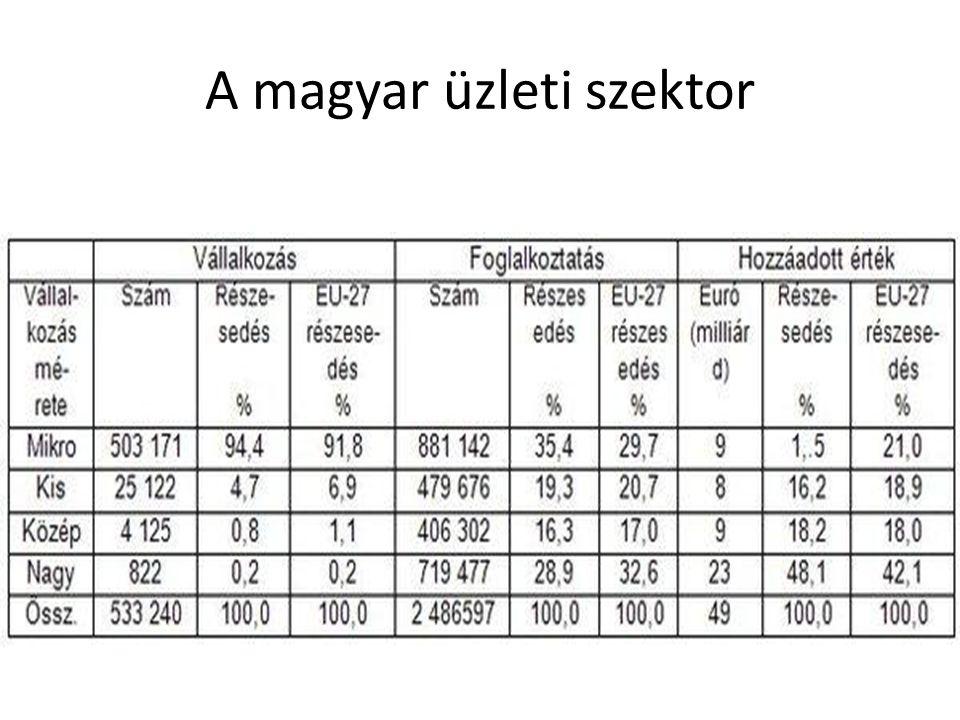 A magyar üzleti szektor