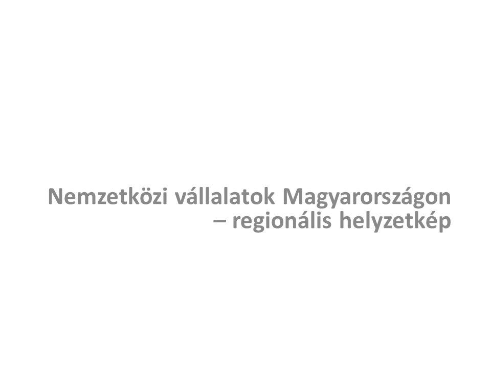 Nemzetközi vállalatok Magyarországon – regionális helyzetkép