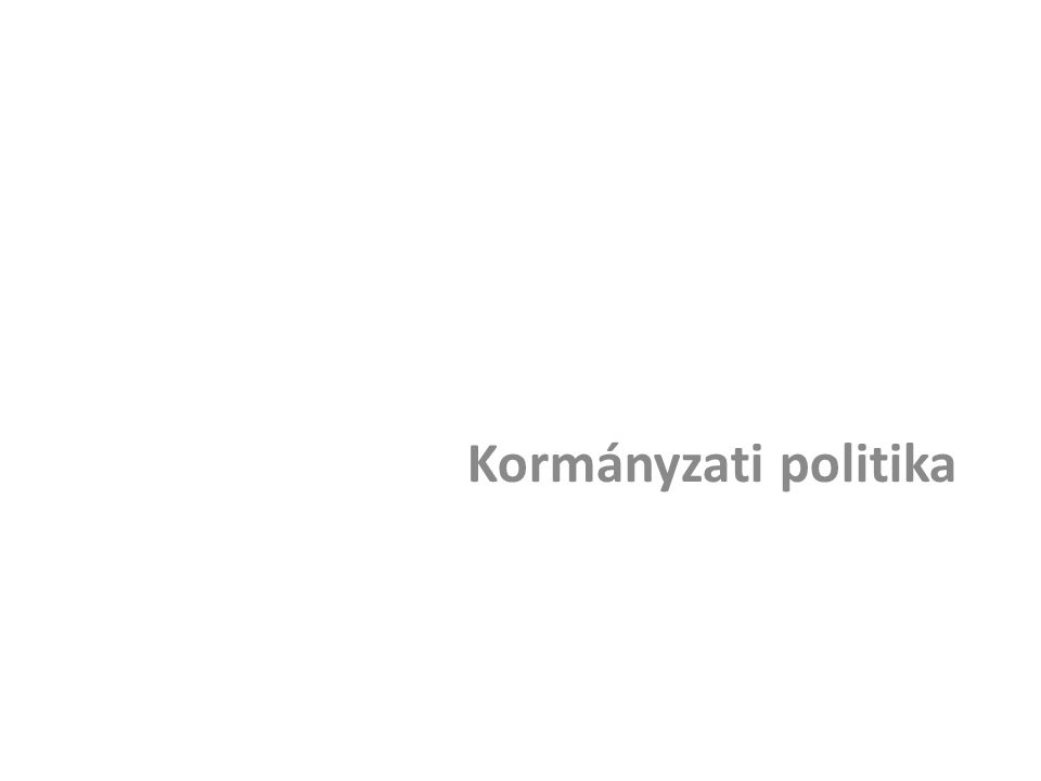 Kormányzati politika