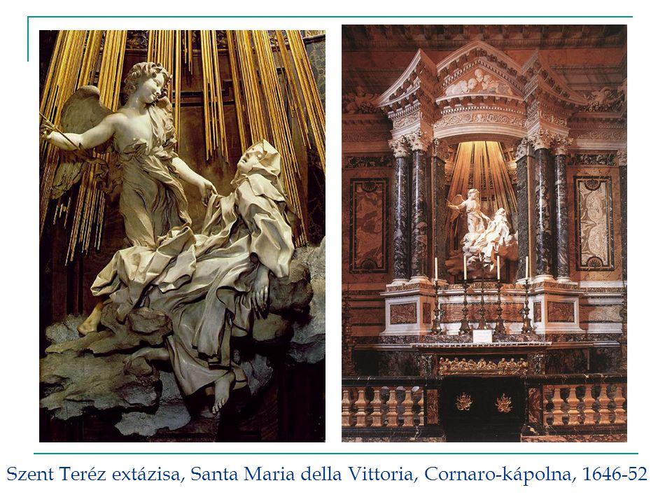 Szent Teréz extázisa, Santa Maria della Vittoria, Cornaro-kápolna, 1646-52