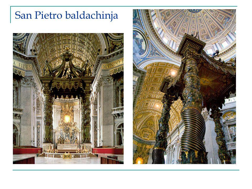 San Pietro baldachinja