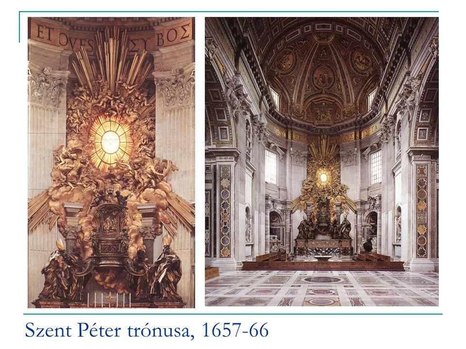 Szent Péter trónusa, 1657-66