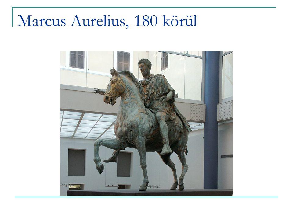 Marcus Aurelius, 180 körül