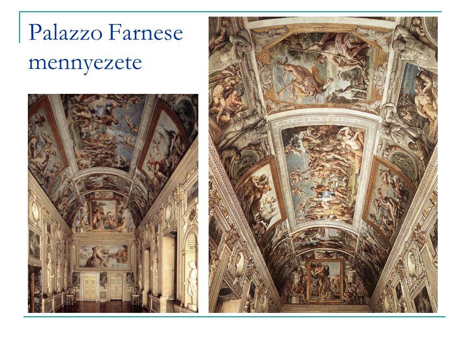 Palazzo Farnese mennyezete