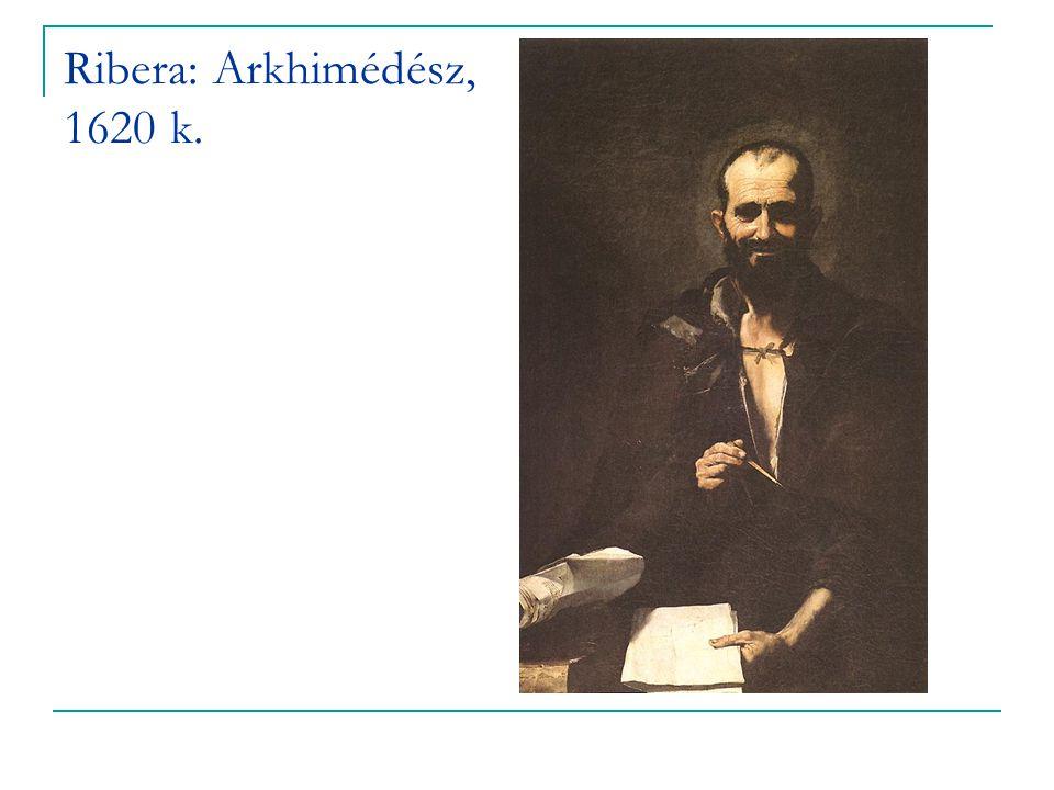 Ribera: Arkhimédész, 1620 k.