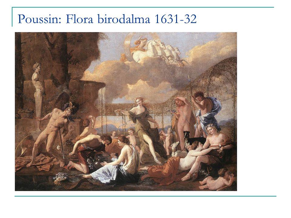 Poussin: Flora birodalma 1631-32