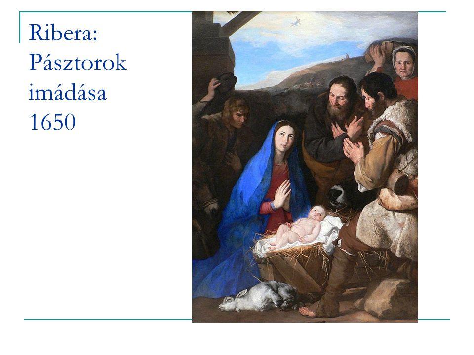 Ribera: Pásztorok imádása 1650
