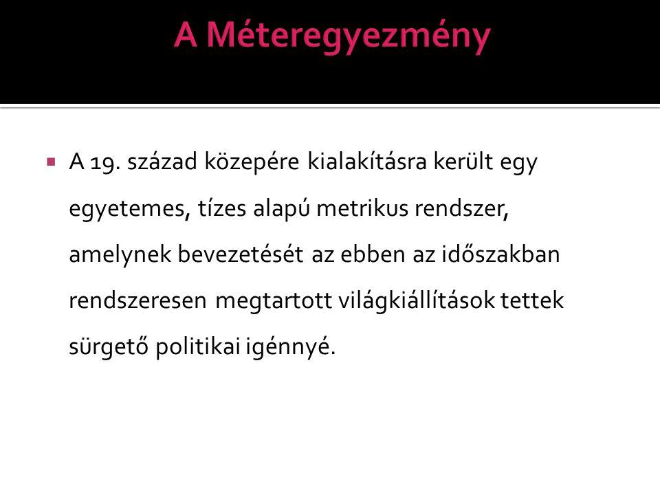 A Méteregyezmény