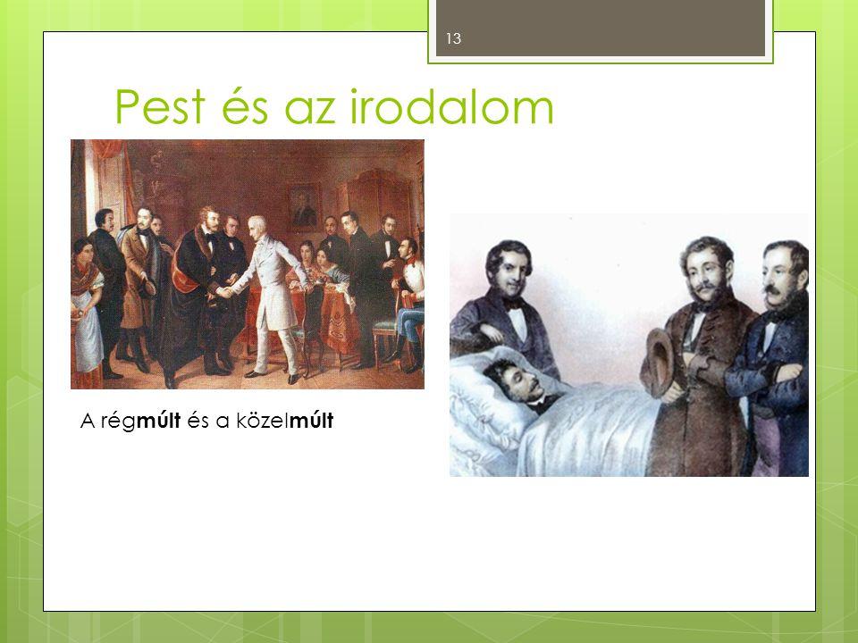 Pest és az irodalom A régmúlt és a közelmúlt