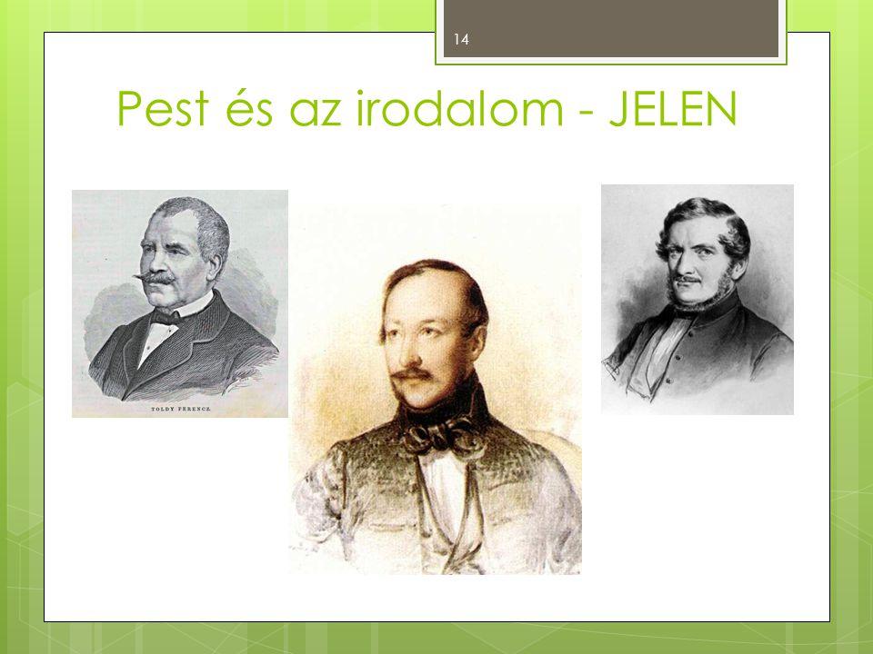 Pest és az irodalom - JELEN