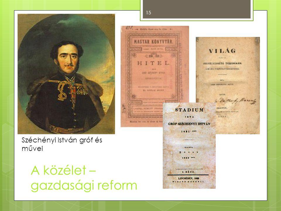A közélet – gazdasági reform