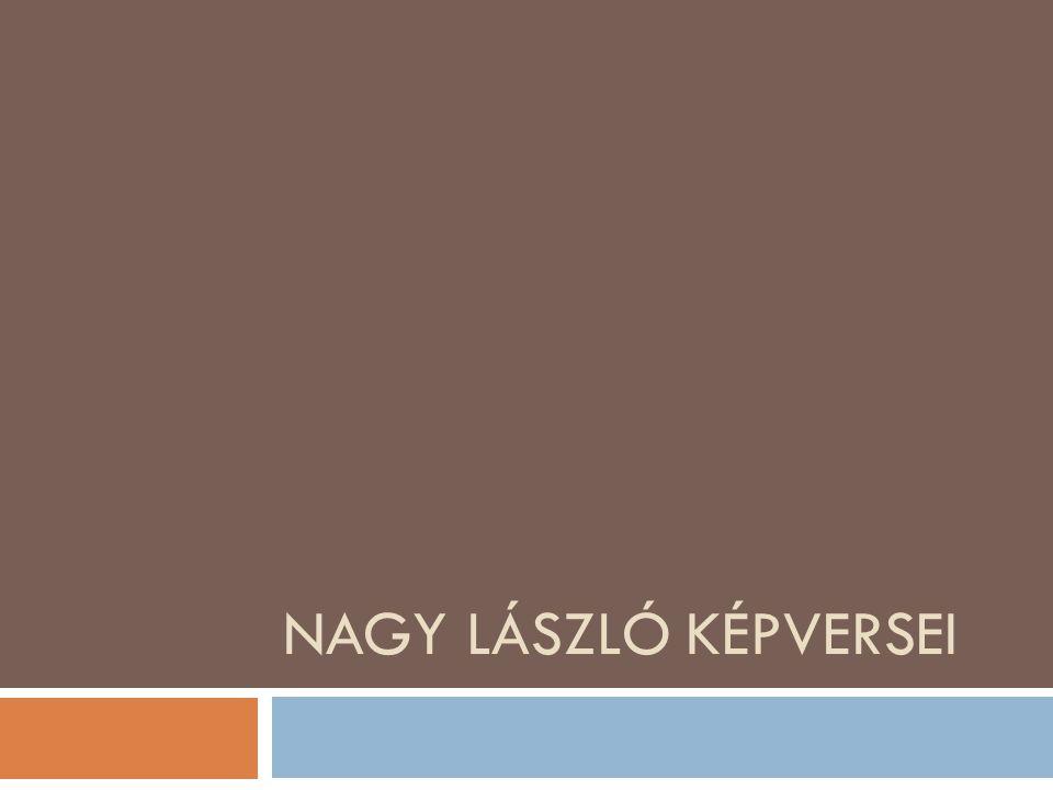 Nagy László képversei