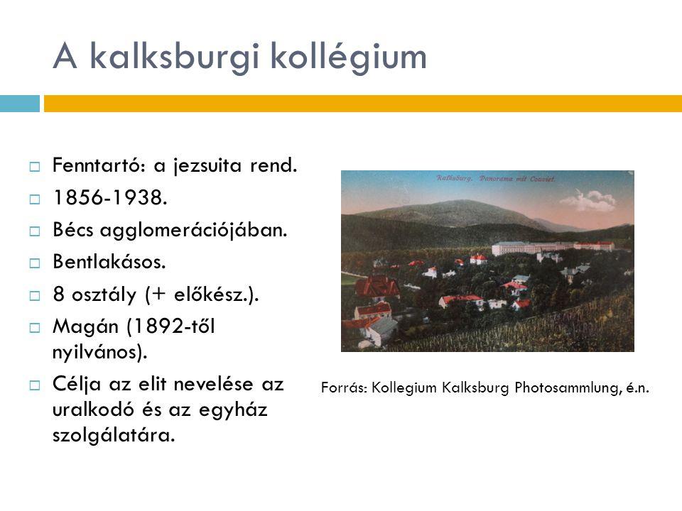 A kalksburgi kollégium