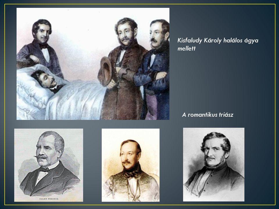 Kisfaludy Károly halálos ágya