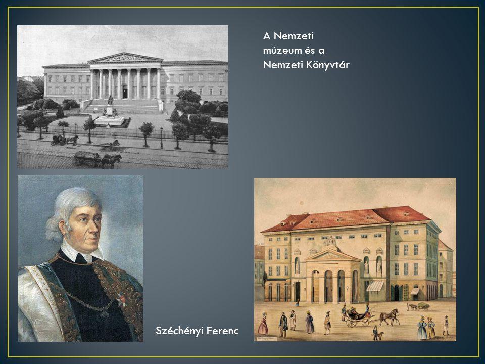 A Nemzeti múzeum és a Nemzeti Könyvtár