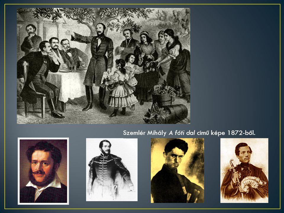 Szemlér Mihály A fóti dal című képe 1872-ből.