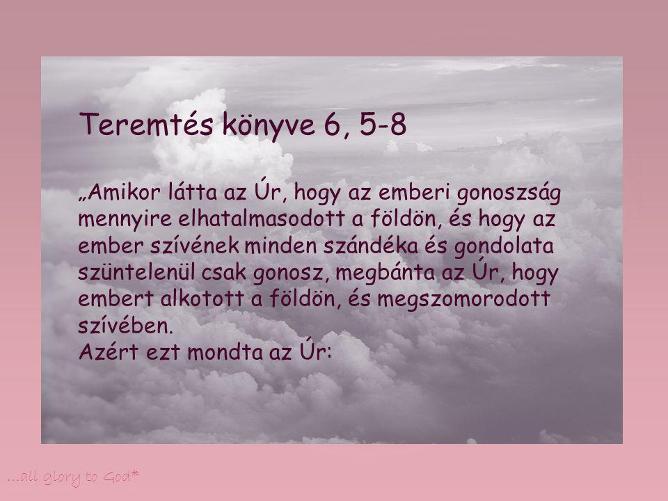 Teremtés könyve 6, 5-8