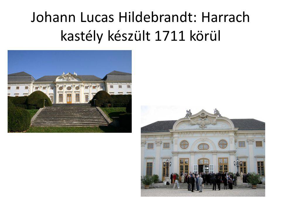 Johann Lucas Hildebrandt: Harrach kastély készült 1711 körül