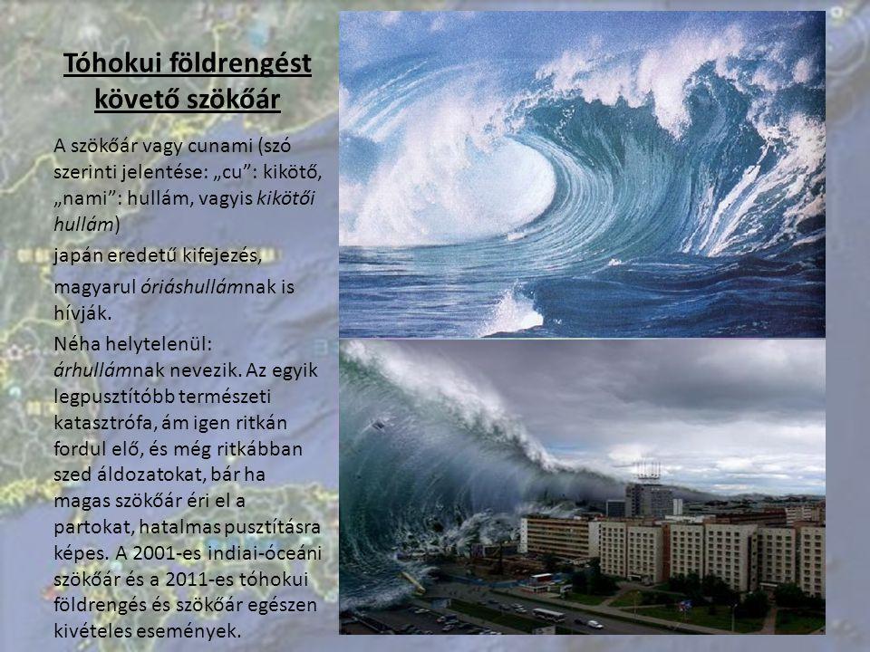 Tóhokui földrengést követő szökőár