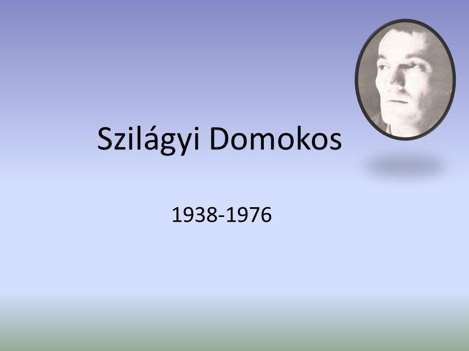 Szilágyi Domokos 1938-1976