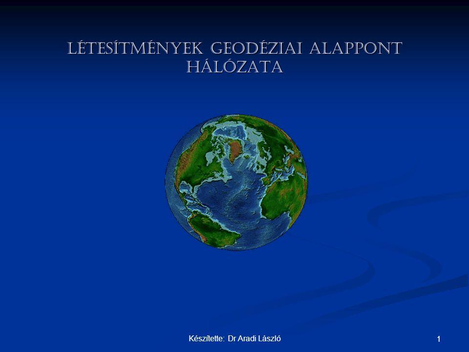 LÉTESÍTMÉNYEK GEODÉZIAI ALAPPONT HÁLÓZATA