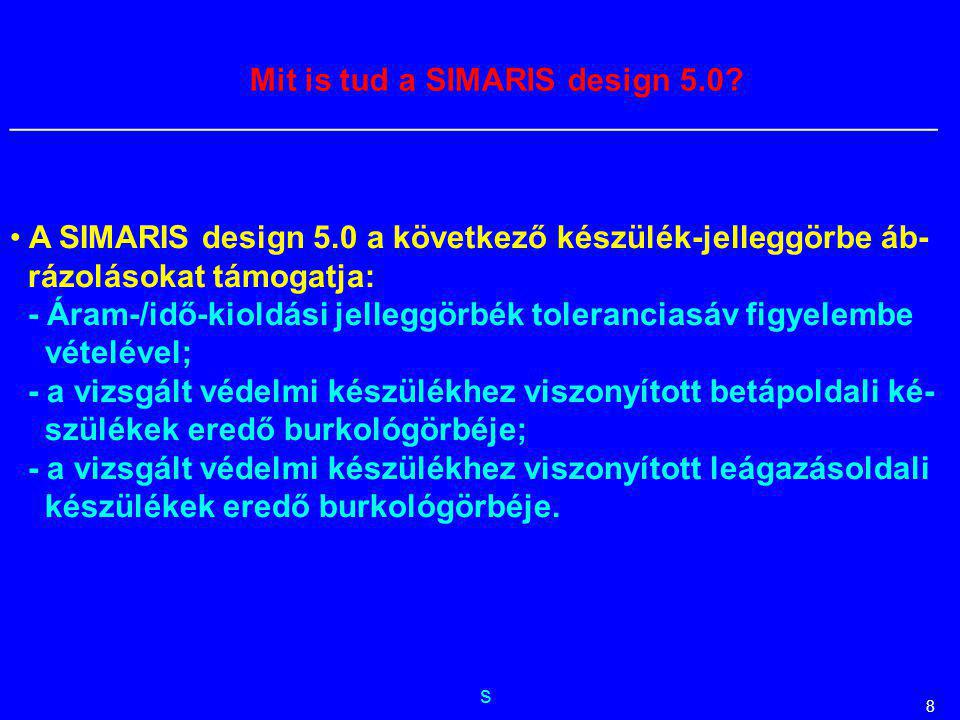 Mit is tud a SIMARIS design 5.0