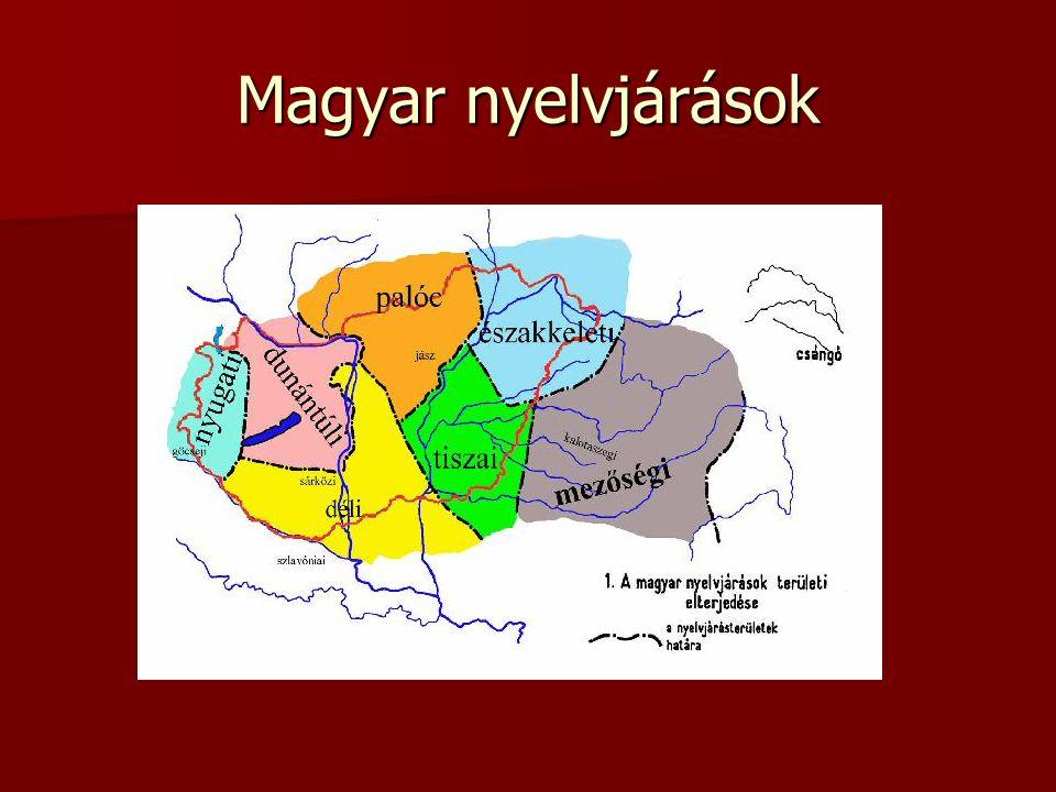 Magyar nyelvjárások