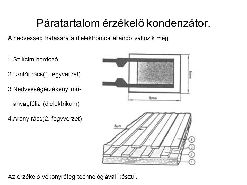 Páratartalom érzékelő kondenzátor.