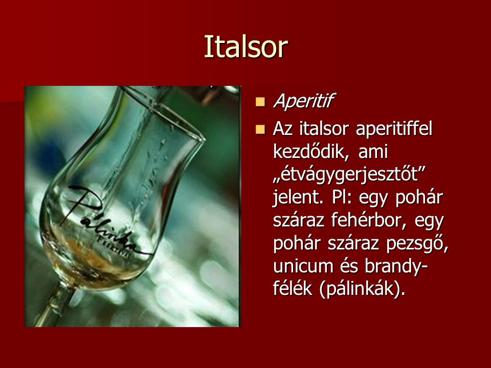Italsor Aperitif.