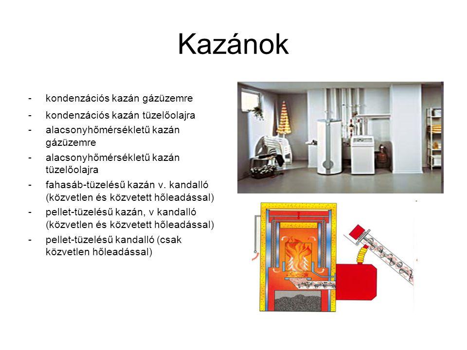 Kazánok kondenzációs kazán gázüzemre kondenzációs kazán tüzelőolajra