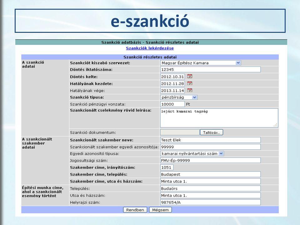 e-szankció