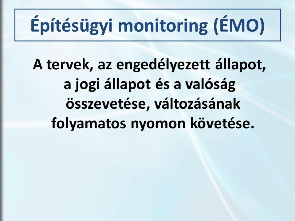 Építésügyi monitoring (ÉMO)