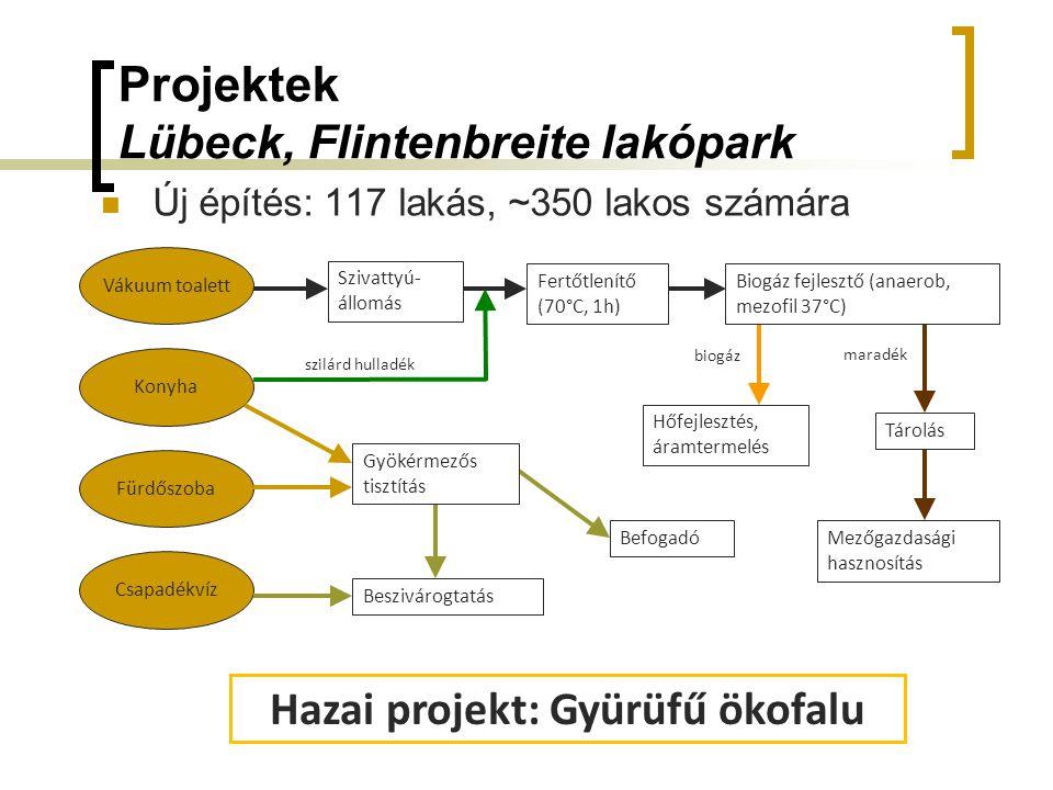 Projektek Lübeck, Flintenbreite lakópark