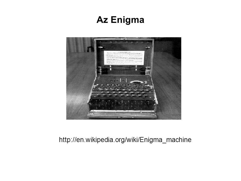 Az Enigma http://en.wikipedia.org/wiki/Enigma_machine
