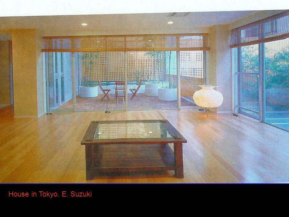 House in Tokyo. E. Suzuki