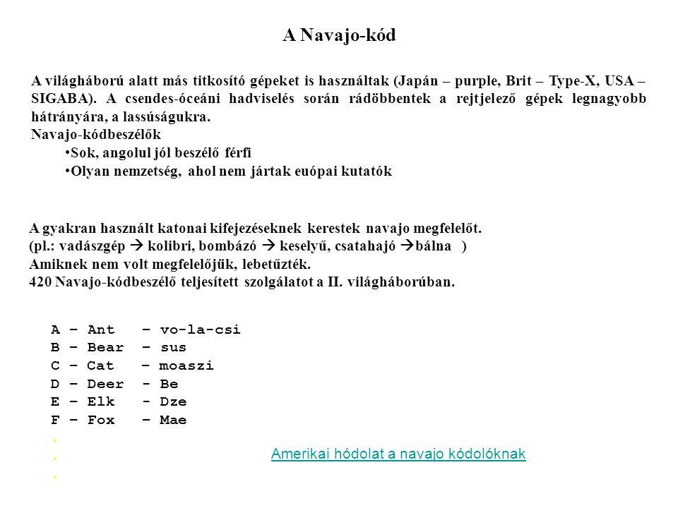 A Navajo-kód