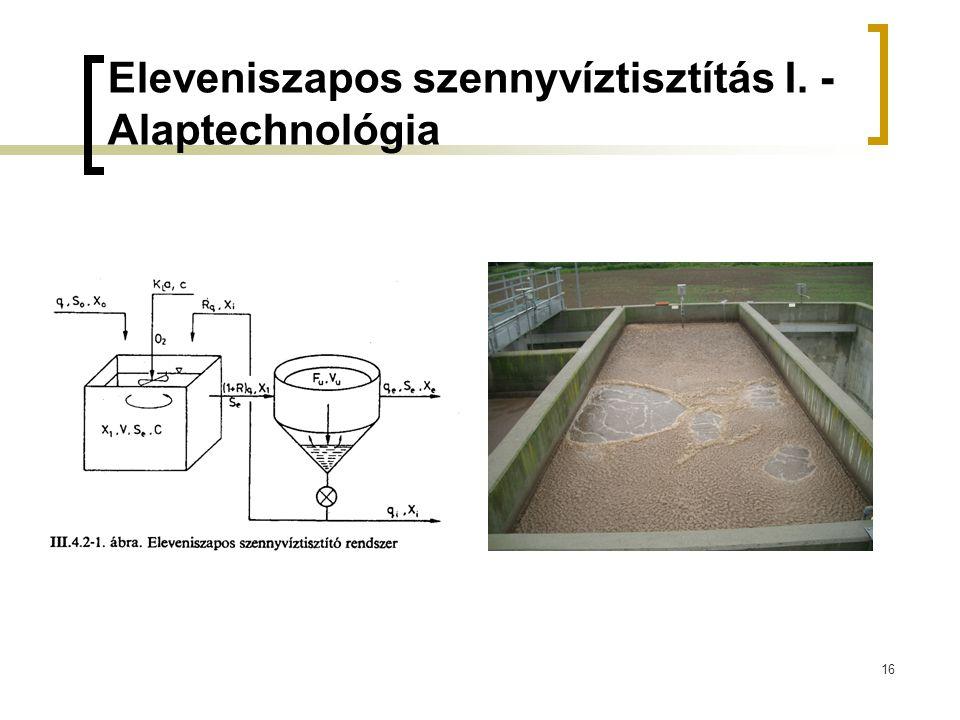 Eleveniszapos szennyvíztisztítás I. - Alaptechnológia