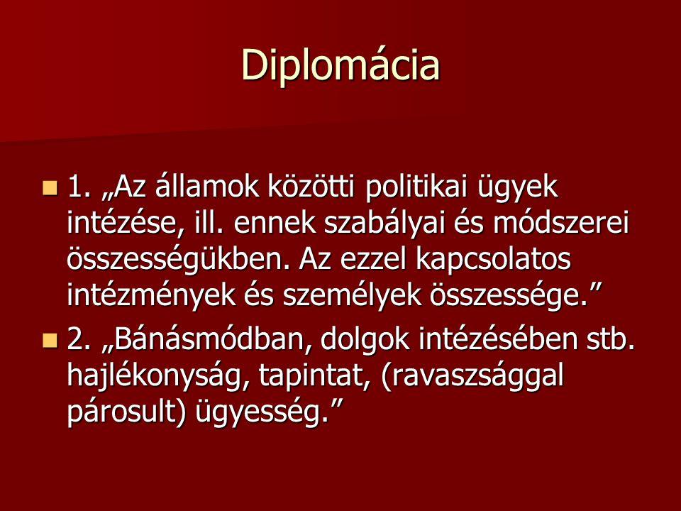 Diplomácia