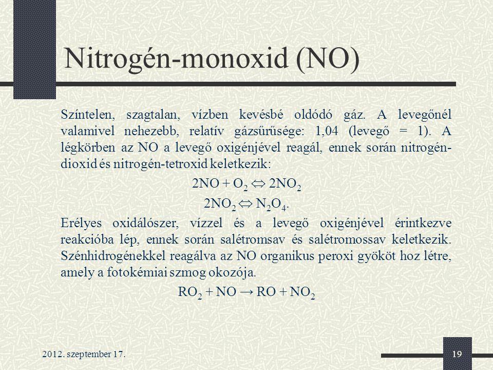 Nitrogén-monoxid (NO)