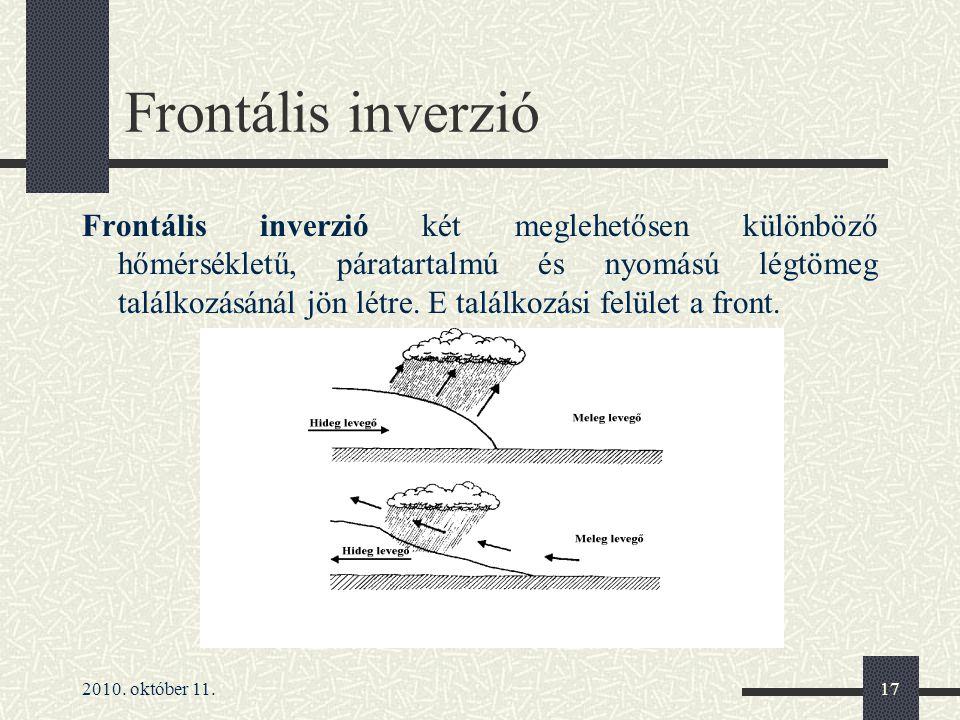 Frontális inverzió