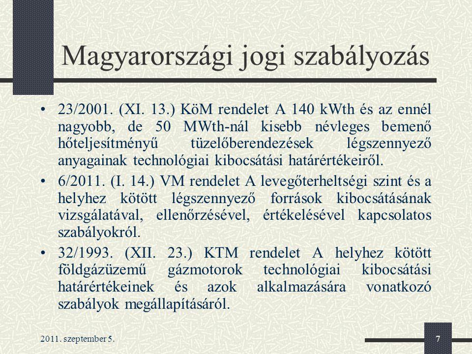 Magyarországi jogi szabályozás