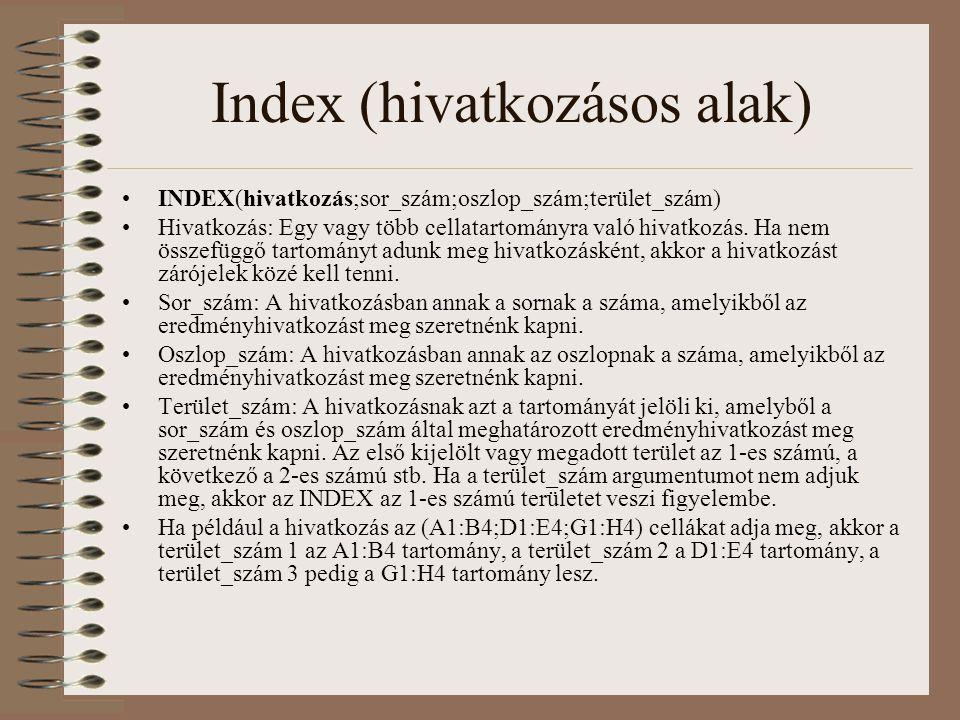 Index (hivatkozásos alak)