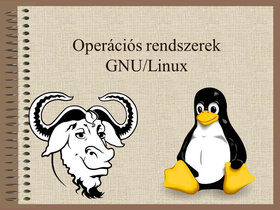 Operációs rendszerek GNU/Linux