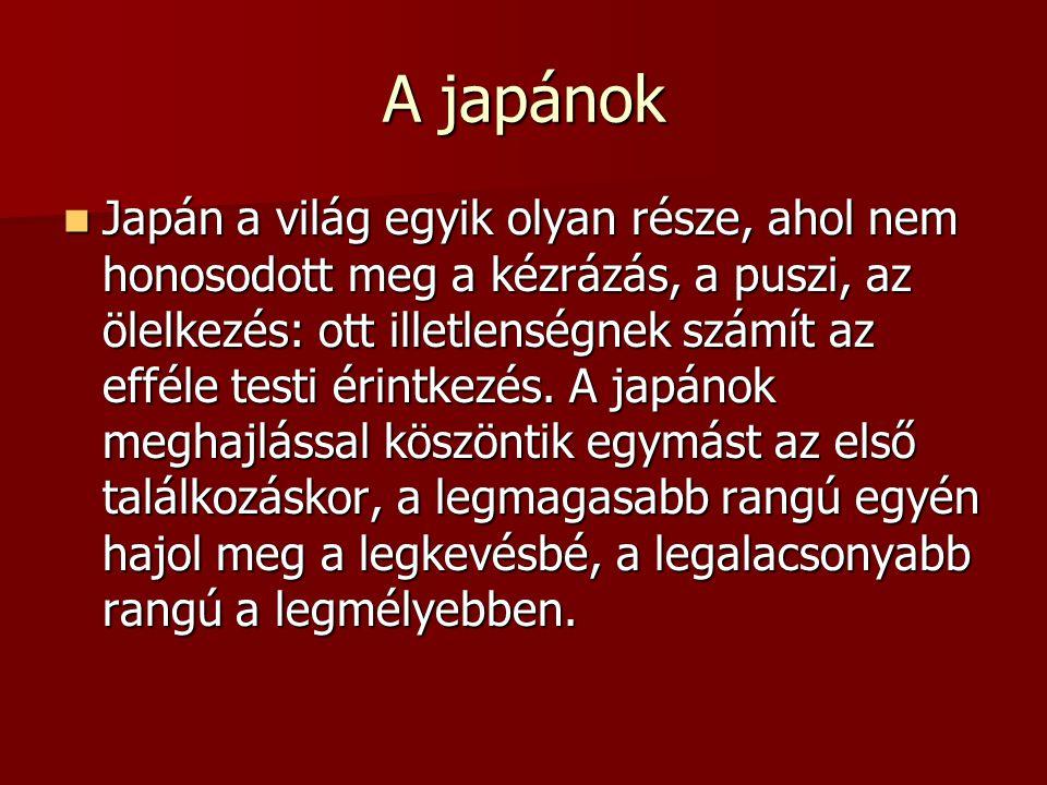 A japánok