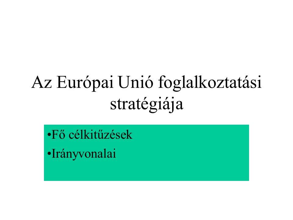 Az Európai Unió foglalkoztatási stratégiája