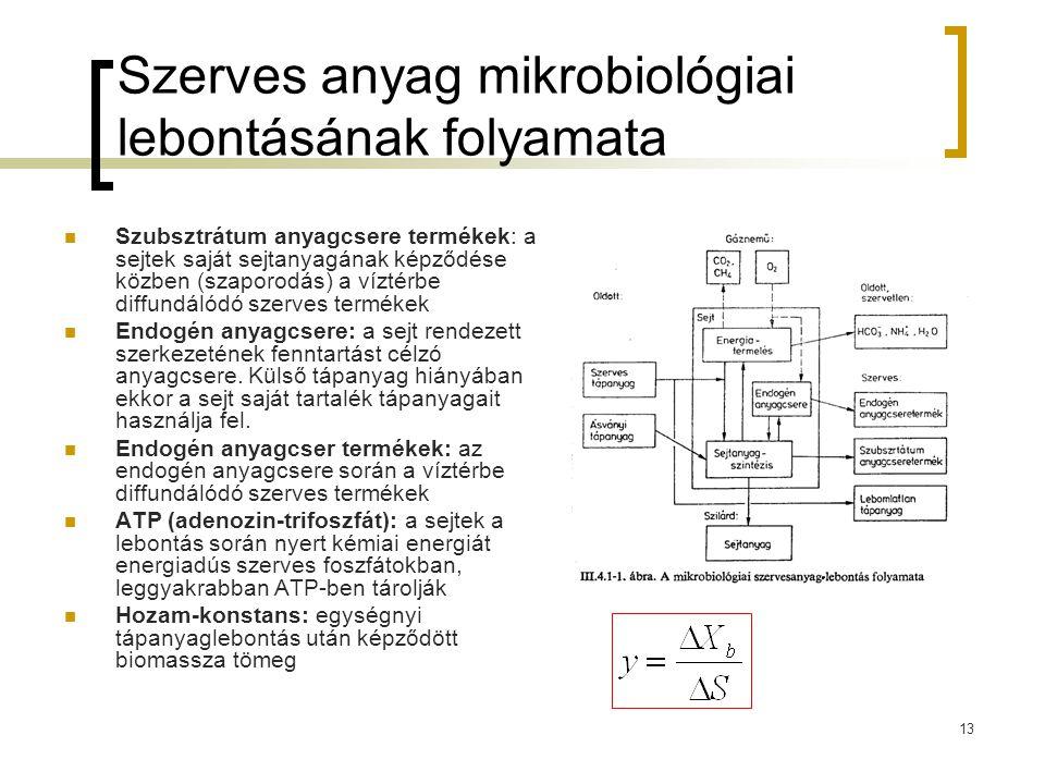 Szerves anyag mikrobiológiai lebontásának folyamata