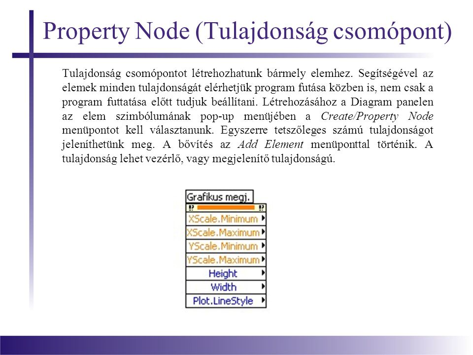 Property Node (Tulajdonság csomópont)